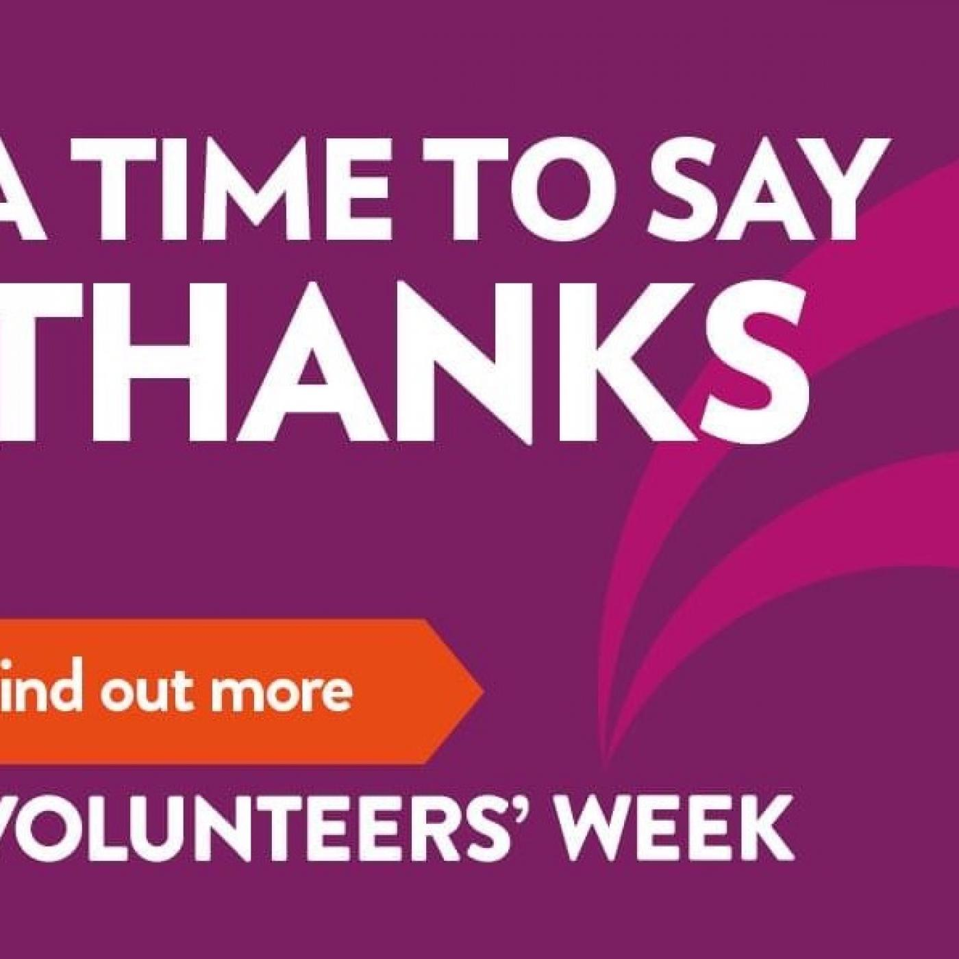Volunteering in Conwy: A time to say thanks!